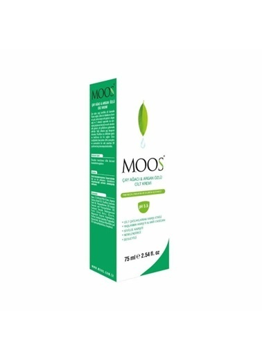 Moos Moos Tea Tree and Argan Oil Skin Cream 75ml Renksiz